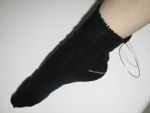 The Husband's sock
