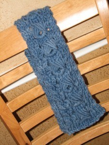 Blue Estonian Stitch Cowl