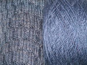 Mismatched yarn