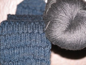 Gentleman's Sock and Gray for Toes