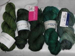 green yarn
