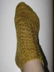 Gold socks