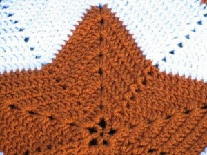 Star Blanket Closeup