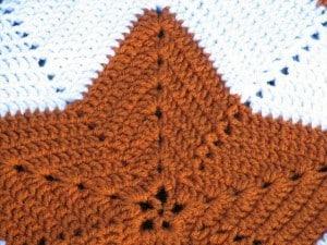 Star Blanket Closeup