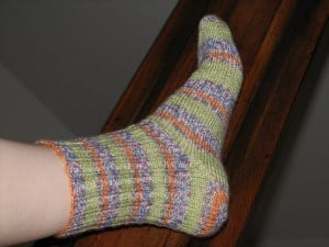 Stripee Sock