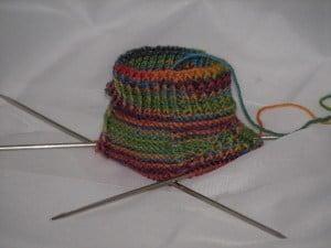 Take 2 - rainbow sock