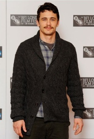 James Franco - cardigan