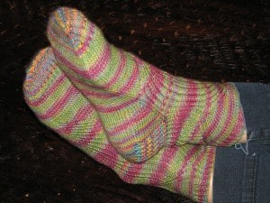 Vanessa antiopa Socks by Hunter Hammersen