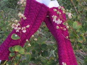 Purpley Red Mitts