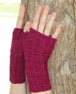 Purpley Red Mitts 5