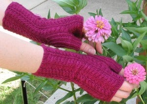 Purpley Red Mitts 4