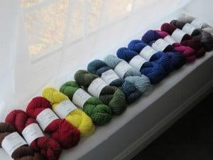 Plucky Knitter Stash