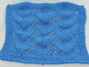 Dragon Scales Dishcloth