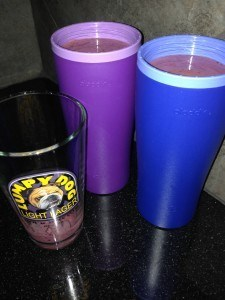 cups of smoothie