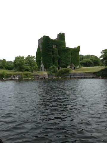 Old Castle on the River Corrib
