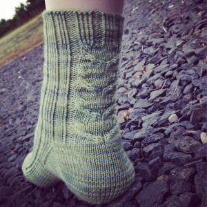 Sty Head Tarn Socks